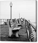 Ocean Grove Pier 2 Canvas Print