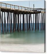 Ocean Pier Canvas Print