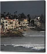 Oceanside California Beach Front Canvas Print