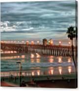 Oceanside Pier At Dusk Canvas Print
