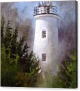 Ocracoke Light Canvas Print