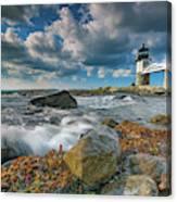 October Morning At Marshall Point Canvas Print