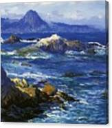 Off Mission Point Aka Point Lobos Canvas Print