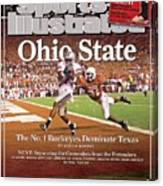 Ohio State Ted Ginn Jr... Sports Illustrated Cover Canvas Print