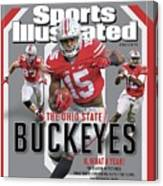 Ohio State University 2014 Ncaa National Champions Sports Illustrated Cover Canvas Print