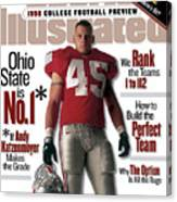 Ohio State University Andy Katzenmoyer, 1998 College Sports Illustrated Cover Canvas Print