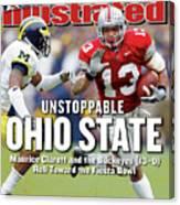 Ohio State University Maurice Clarett Sports Illustrated Cover Canvas Print
