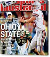 Ohio State University Qb Craig Krenzel, 2003 Tostitos Sports Illustrated Cover Canvas Print