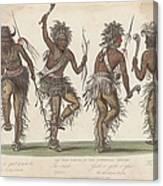 Ojibwa War Dance Canvas Print