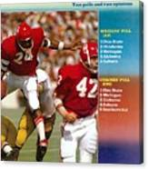 Oklahoma Joe Washington... Sports Illustrated Cover Canvas Print