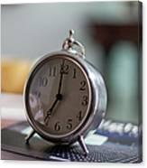 Old Alarm Clock Canvas Print