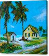 Old Bahama Road Canvas Print