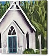 Old Church Copake Falls Canvas Print