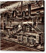 Old Climax Engine No 4 Canvas Print