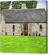 Old Columba's Church Rectory Canvas Print