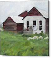 Old Farm Buildings Canvas Print