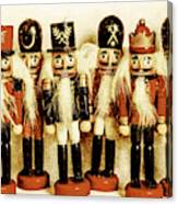 Old Nutcracker Brigade Canvas Print