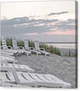 Old Orchard Beach Tranquil Morning Canvas Print