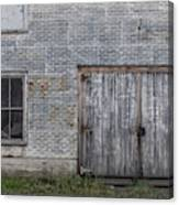 Old Trackside Warehouse Canvas Print