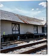 Old Train Depot In Gray, Georgia 2 Canvas Print