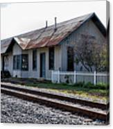 Old Train Depot In Gray, Georgia 1 Canvas Print