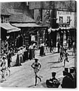Olympic Marathon Canvas Print