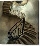 An Old Staircase Canvas Print