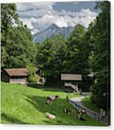 one afternoon in Ballenberg Canvas Print