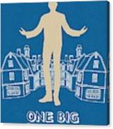 One Big Home Canvas Print