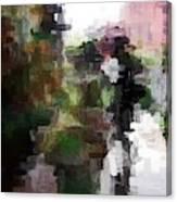 One Shadow Canvas Print