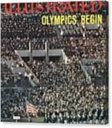 Opening Ceremony, 1960 Summer Olympics Sports Illustrated Cover Canvas Print