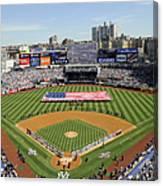 Opening Day Yankee Stadium. New York Canvas Print