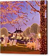 Opryland Hotel Christmas Canvas Print