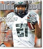 Oregon State University Vs University Of Oregon Sports Illustrated Cover Canvas Print