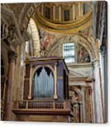 Organ Canvas Print