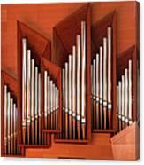 Organ Of Bilbao Jauregia Euskalduna Canvas Print