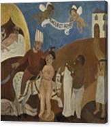 Oriental Tale  Canvas Print