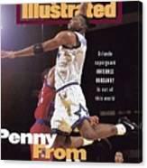 Orlando Magic Penny Hardaway Sports Illustrated Cover Canvas Print
