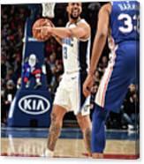 Orlando Magic V Philadelphia 76ers Canvas Print