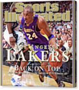 Orlando Magic Vs Los Angeles Lakers, 2009 Nba Finals Sports Illustrated Cover Canvas Print