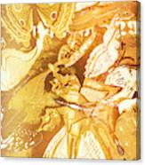 Ornamental Spring Canvas Print