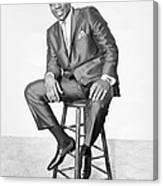 Otis Redding Portrait Canvas Print
