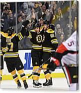 Ottawa Senators V Boston Bruins Canvas Print
