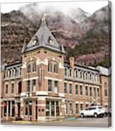 Ouray Colorado - Architecture - Hotel Canvas Print