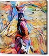 Outback Roo Canvas Print