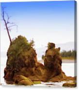 Outlying Tillamook Bay Canvas Print