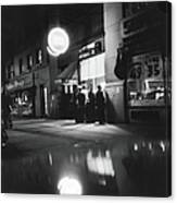 Outside The Cedar Street Tavern Canvas Print