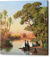 Outskirts Of Cairo Canvas Print