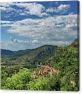 Over Roccassecca  Canvas Print
