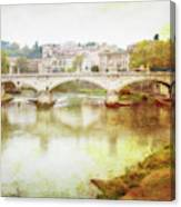 Over The Tiber Canvas Print